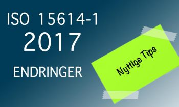 Hva er nytt i 2017 utgaven av ISO 15614-1?