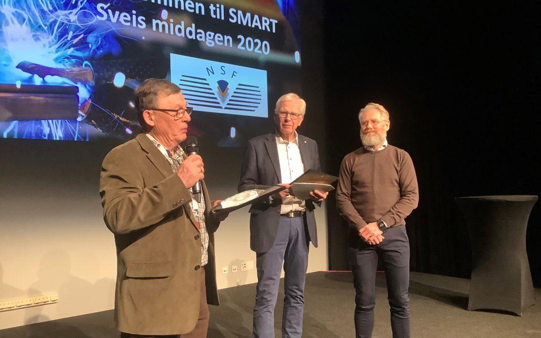 Tre personer mottok NSFs hederspris for sin innsats