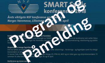 Program og Påmelding for Smart Sveis konferansen 2018