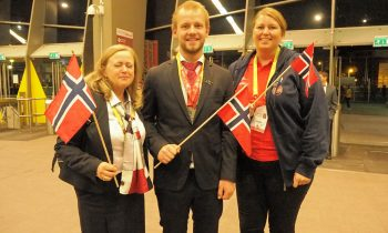 NSF gratulerer Jon Arne Hjelmstadbakk med sølv i Yrkes EM